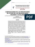 Estudio Percepciones Estudiantes Chilenos y Catalanes_ Luis Carcamo y Otros