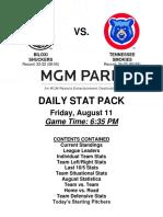 8.11.17 vs. TNS Stat Pack