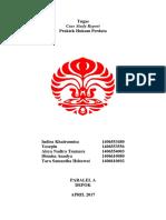 Tugas Case Study Report PRAPER