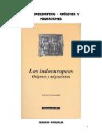 Adriano Romualdi - Los indoeuropeos. Orígenes y migraciones.pdf