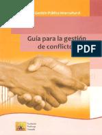 Guía Para La Gestión de Conflictos