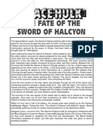 Space Hulk Mission - The Fate of the Sword of Halcyon Campaign (White Dwarf 203)