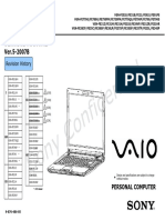 Sony Vaio VGN-FE770G Service Manual