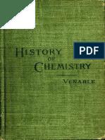 Francis Preston Venable-A Short History of Chemistry