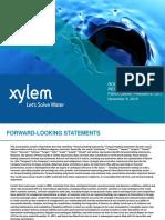 XYL BAIRD Investor Briefing