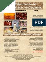 1er. Tabernáculo de Adoración 24 h. y Centro Empresarial u.