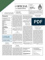 Boletin Oficial 03-08-10 - Segunda Seccion