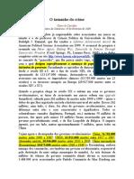 Olavo de Carvalho - O Tamanho Do Crime