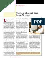 LTL (5) 6.20.2015. Essentials of Legal Writing