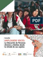 Consulta AMPLIANDO VOCES
