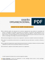 DISEÑO ORGANIZACIONAL2017