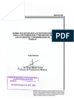 Norma que establece las disposiciones para la dictaminación y prevención de los accidentes y enfermedades de trabajo.pdf