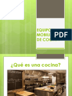 Equipo y Mobiliario de Cocina