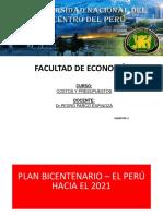 Plan Bicentenario Politicas Acuerdo Nacional