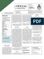 Boletin Oficial 05-08-10 - Segunda Seccion