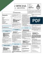 Boletin Oficial 05-08-10 - Tercera Seccion