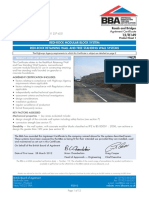 BBA Cert 12-R149 for Redi-Rock Modular Block System (March 2012)