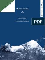 Poesía erótica  - John Donne