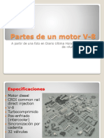Partes de Un Motor v-8