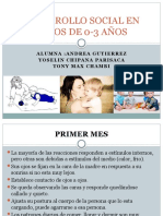 Desarrollo Social en Niños de 0-3 Años