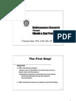 Fibroid & Cyst Protocol