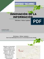 innovacion _de_ la _informacion