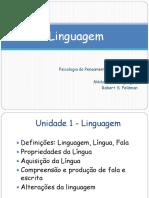 Aulas 1 a 8 Pensamento e Linguagem