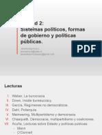 Unidad 2- Sistemas Políticos, Formas de Gobierno, Acción Colectiva y Politicas Publicas-1