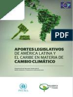 Aportes Legislativos en Materia de Cambio Climático