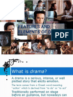 Elements of Drama Compared to Literary Elements
