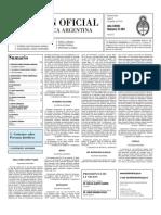 Boletin Oficial 09-08-10 - Segunda Seccion