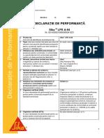 Declaratie de performanta Sika® LPS A-94