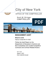 DOE Management Audit
