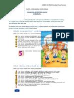 2016-2017 Child Friendly Checklist of Ves