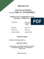 Electricas Galeria Arica 12-12-12