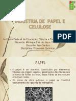 Indústria de Celulose e Papel - Monique