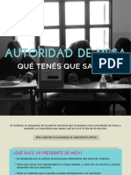 Manual para autoridades de mesa creado por CIPPEC