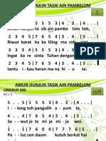 Ungkup 200 - Amon Hunjun Tasik Ain Pambelo