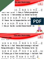 Ungkup 228a - Toh Ikei Talih Ikau