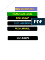 Direito Administrativo - Valmir Rangel - Slides - Modulo i (Pb)