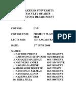 Feasibility Study 12