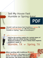 Sell My House Fast Humble or Spring Area - www.TexasfastHomeOffer.com