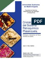 Cristaloquímica del Sistema Petroquímico Plasenzuela, Petrología y Geoquímica de rocas de octor Universidad Autonoma Madrid