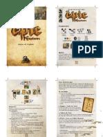 Tiny Epic Kingdoms - Livro de Regras Oficial Traduzido Diagramado