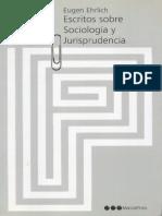 Escritos sobre sociología y jurisprudencia, Marcial Pons, España