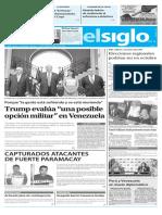 Edicion Impresa El Siglo 12-08-2017