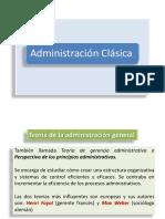 ADMINISTRACION CLASICA - PUBLICACION