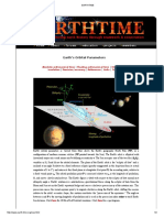 Earth's Orbital Parameters