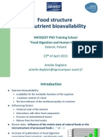 Amelie Deglaire - Food Structure _ Bioavailability