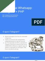Telegram e WPP